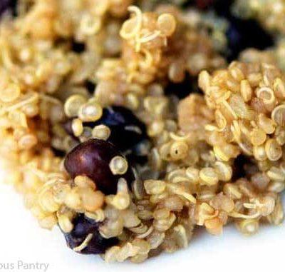 Clean Eating Black Bean Quinoa Salad