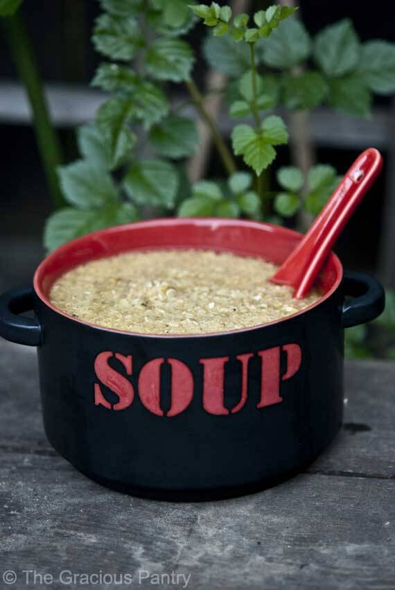 Clean Eating Sicky Soup