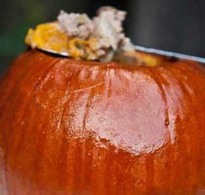Clean Eating Stuffed Pumpkins
