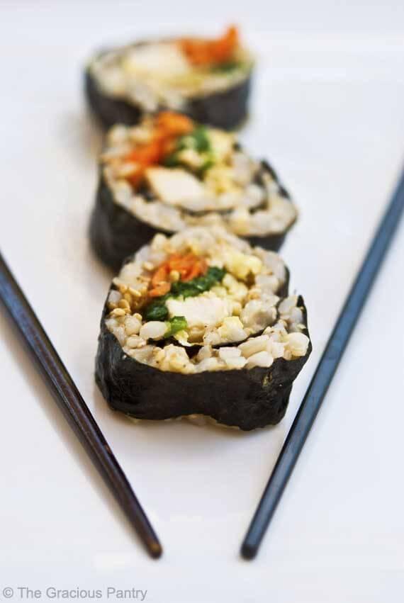 Clean Eating Sushi Recipe
