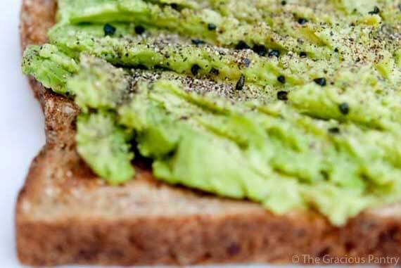 Clean Eating Avocado Toast
