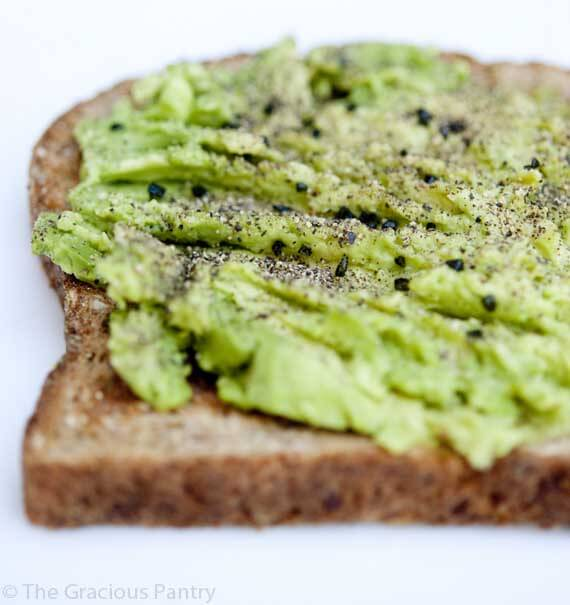Clean Eating Avocado Toast