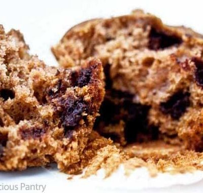 Clean Eating Chocolate Chip Muffins