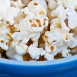 Clean Eating Coconut Popcorn