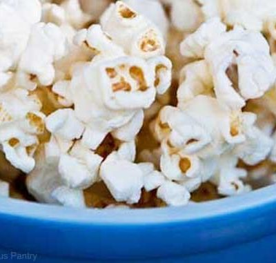 Clean Eating Coconut Popcorn Recipe