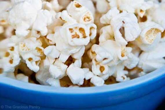 Coconut Oil Popcorn Recipe