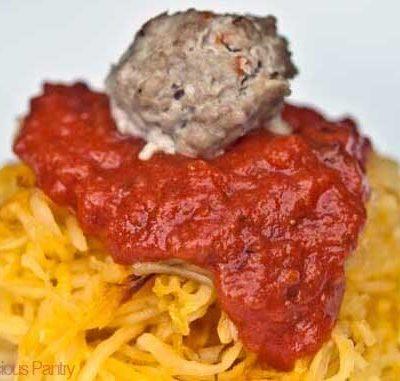 Clean Eating Spaghetti Squash Spaghetti Recipe