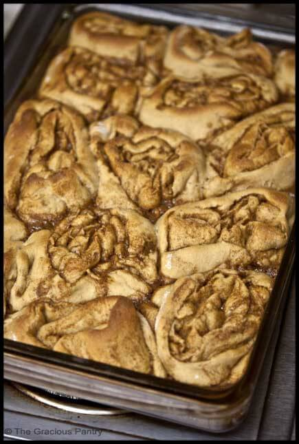Clean Eating Cinnamon Rolls