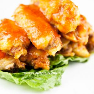 Clean Eating Spicy Buffalo Wings Recipe