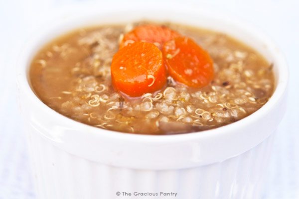 Clean Eating Quinoa Vegetable Soup Recipe
