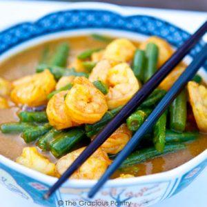 Clean Eating Coconut Curry Shrimp Recipe