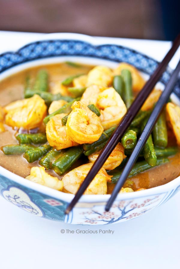 Clean Eating Coconut Curry Shrimp Recipe