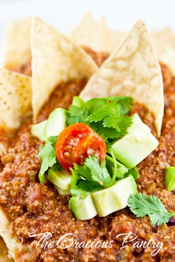 Clean Eating Chili Nachos Recipe