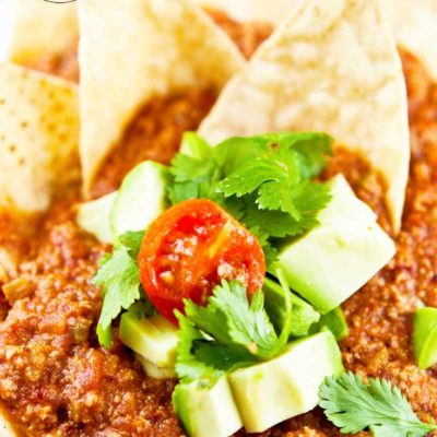 Clean Eating Chili Nachos Recipe