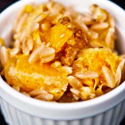 Clean Eating Citrus Orzo Recipe