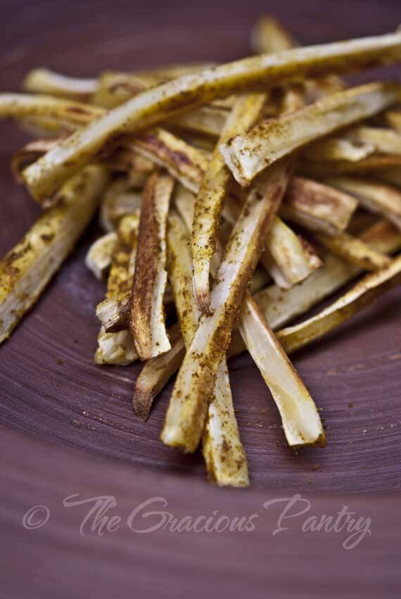 "Roasted Parsnip ""Fries"" With Curry Salt Recipes — Dishmaps"
