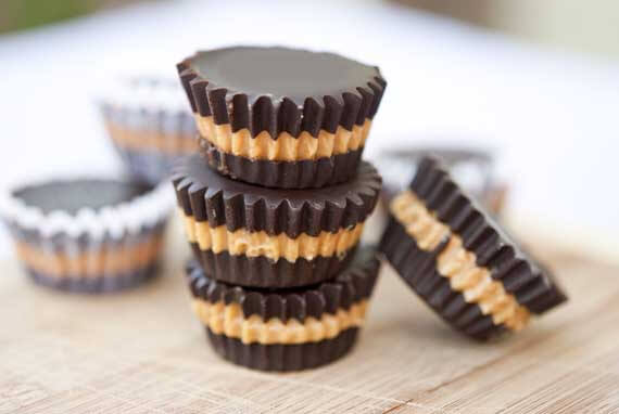 Clean Eating Peanut Butter Cups