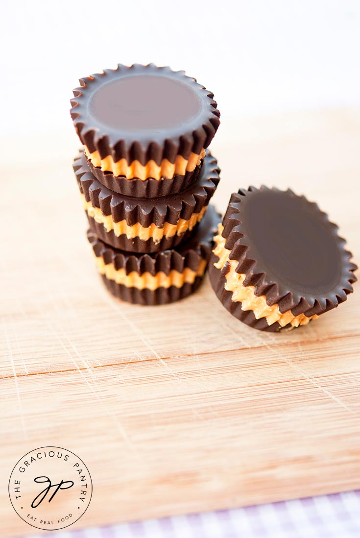 Peanut Butter Cups Recipe The Gracious Pantry Healthy Candy Recipes