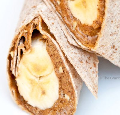 Clean Eating Banana Wrap Recipe