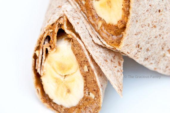 Clean Eating Banana Wrap Recipe