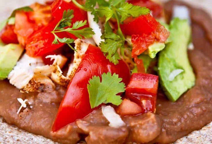 Clean Eating BBQ Burritos Recipe