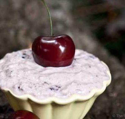 Clean Eating Cherry Yogurt