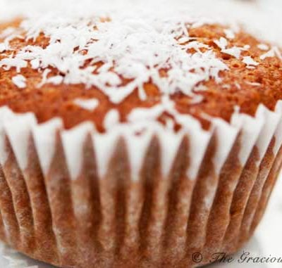 Clean Eating Coconut Pineapple Muffins Recipe