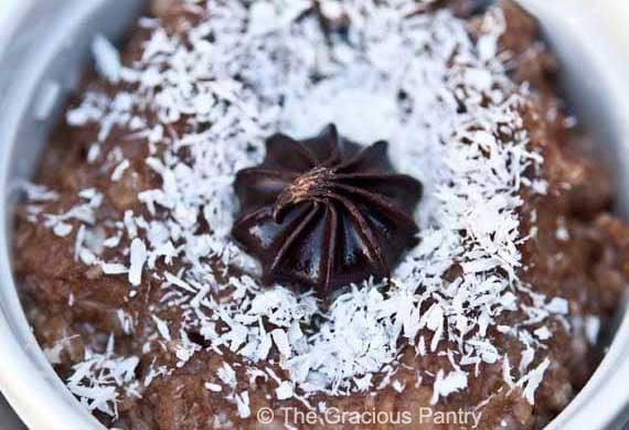 German Chocolate Oatmeal Recipe
