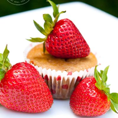 Clean Eating Strawberry Muffins Recipe