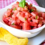 Clean Eating Watermelon Salsa Recipe