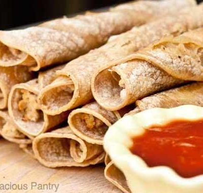 Clean Eating Taquitos Recipe