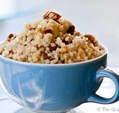 Clean Eating Apricot Ginger Quinoa With Cashews