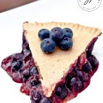 Clean Eating Blueberry Pie Recipe