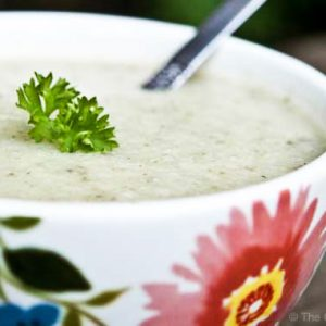 Clean Eating Cauliflower Soup Recipe