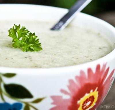 Clean Eating Cauliflower Soup Recipe