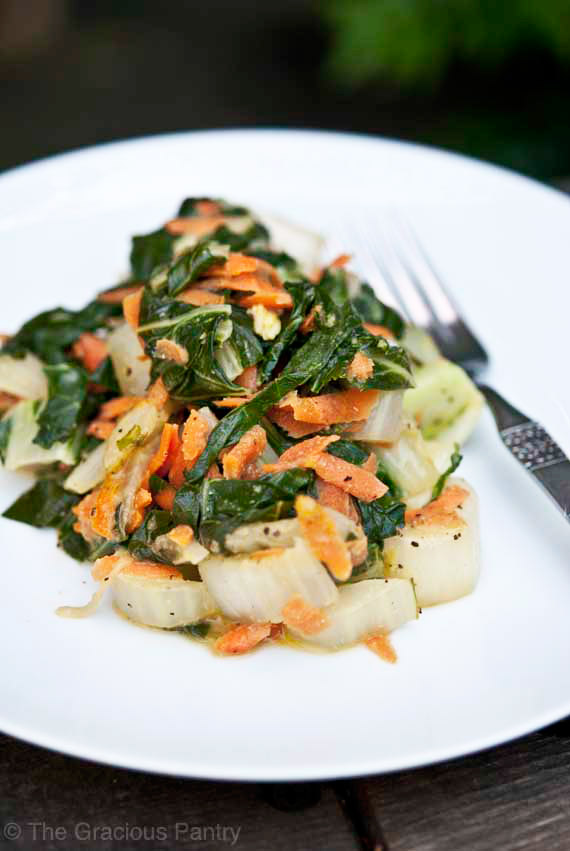 Clean Eating Coconut Bok Choy Recipe
