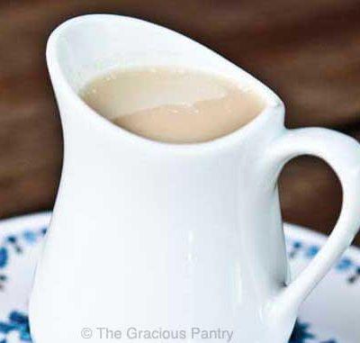 Clean Eating Condensed Milk