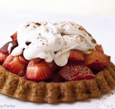 Clean Eating Strawberry Shortcake Recipe