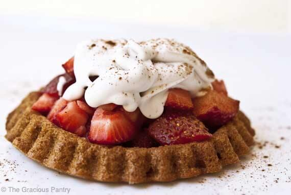 Clean Eating Strawberry Shortcake