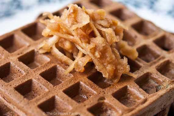 Protein Powder Waffles Recipe