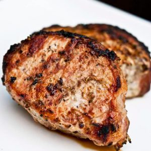 Grilled Pork Chops Recipe