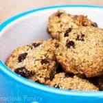 Clean Eating Oatmeal Raisin Cashew Cookies Recipe