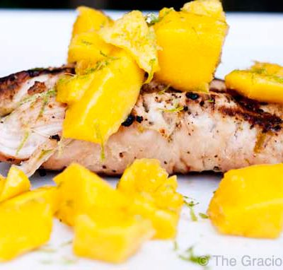 Clean Eating BBQ Lime And Mango Turkey Recipe