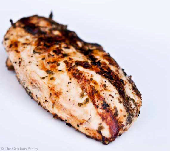Clean Eating BBQ Tarragon Chicken Recipe