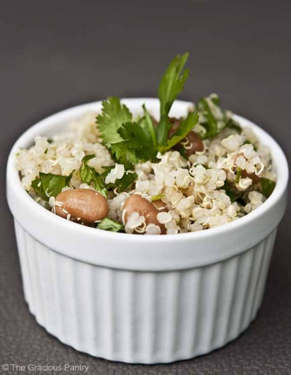 Clean Eating Recipes | Clean Eating Cilantro Quinoa Salad