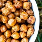 Clean Eating Roasted Chickpeas Recipe