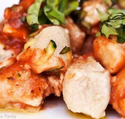 Clean Eating Gnocchi With Chicken And Marinara Recipe
