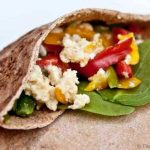 Clean Eating Breakfast Pita