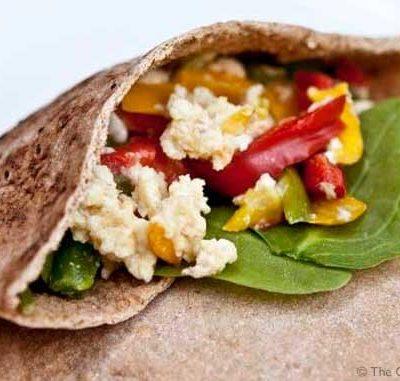 Clean Eating Breakfast Pita Recipe