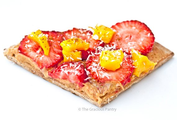 Clean Eating Quick & Easy Fruit Pizza Recipe